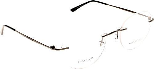 Giorgio Armani Für Mann 5003t Matte Gunmetal Titangestell Brillen, 53mm