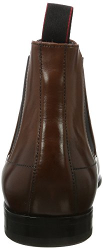 HUGO Herren Dressapp_Cheb_BU 10199046 01 Chelsea Boots Braun (Medium Brown)