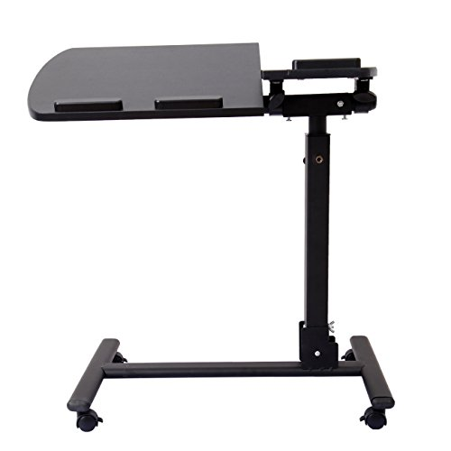 ridgeyard-portable-laptop-desk-bedside-table-adjustable-height-title-stand-black