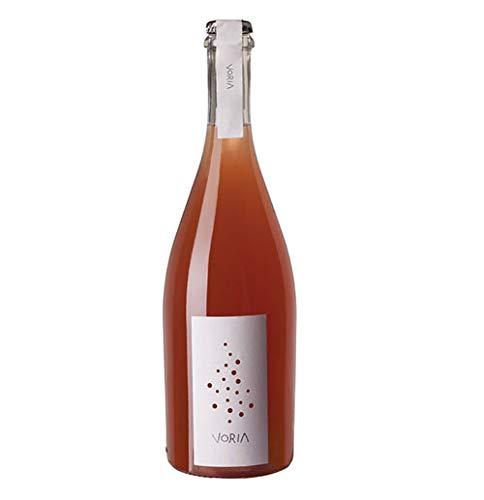 Voria rosato vino frizzante bio metodo ancestrale porta del vento 75 cl by nelson sicily