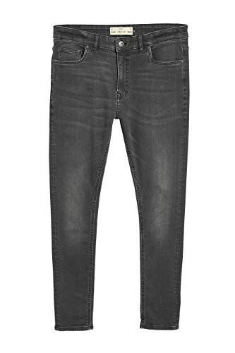 next Herren Spray On Fit Stretch Jeans Dunkelgrau EU 81 Regular (UK 32R) Essentials Bootcut Jeans