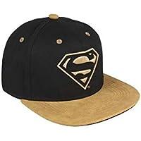 Cerdá Plana Superman Gorra de Tenis, Niños, Negro, 52-58 cm