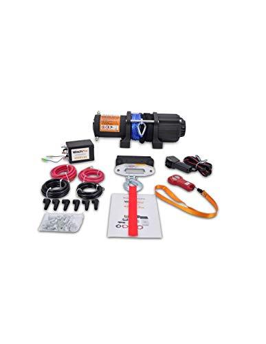 Cabrestante Electrico Winche 12v 4500Lbs 2045Kg Cuerda