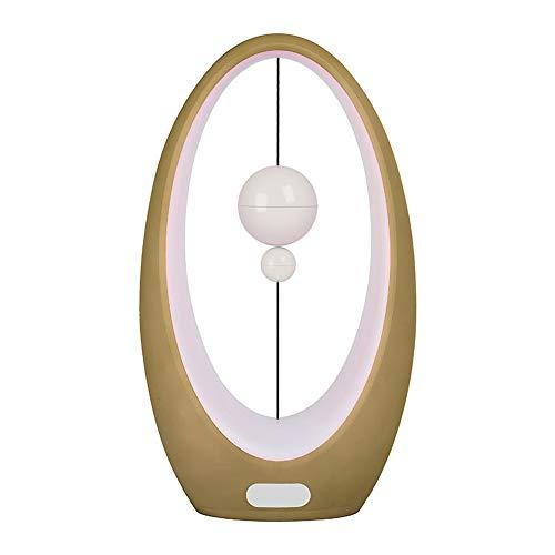 DYHQQ Balance LED Lampe de Table Switch Mid-Air Interface USB-Balance Light Salon, Salle à Manger et Table de Bureau,I
