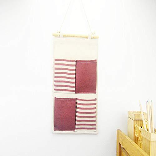 4 * Colorblock in Cotone e Lino a Righe in Tessuto Quattro...