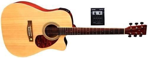Tenson F501320 Akustikgitarre D10-CE, Cutaway Elektro-Acoustic