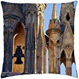 La Parroquila Church-San Miguel De Allende Mexico - Throw Pillow Cover Case (18