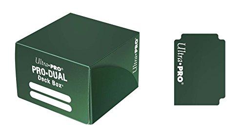 Ultra Pro 82990 - Deck Box - Pro Dual, grün -