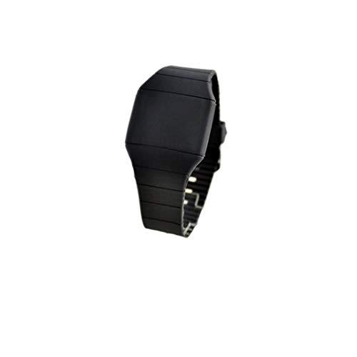 1 PC del Reloj para Hombre Deportes Electrónicos Digitales LED De Pantalla Táctil Reloj con Pulsera...