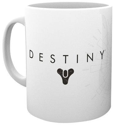 Destiny Standard Logo Tazza bianco