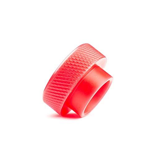 Tropfspitze 12,5 mm Durchmesser Gelenk für Goon TFV8 und 810 Zerstäuber ECigarettes Vaporizer Driptip Frei von Tabak und Nikotin (Bundle : 1PCS, Color : Red) (Vaporizer Für Tabak Elektronische)