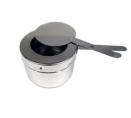Brennpaste Behälter mit Deckel für Chafing Dish Speisewärmer Warmhaltebehälter Chafing Dish Fuel