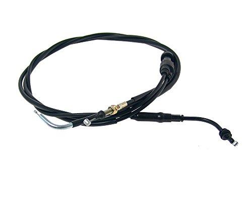 Câble d'accélérateur PTFE complet Peugeot Speedfight 1 / 2 pompe à huile mécanique Scooter