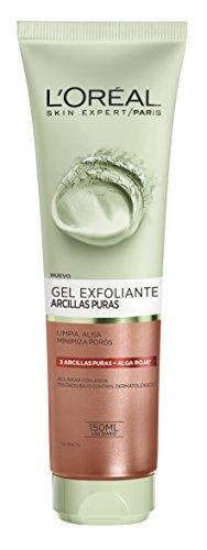 L'Oréal Paris Gel Limpiador Exfoliante Arcillas Puras