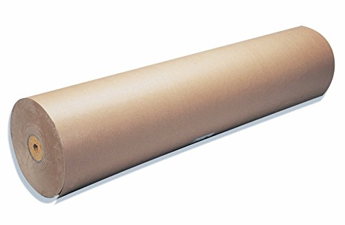Clairefontaine 595771C - Un rouleau Kraft Brun vergé 1x50 m 60g