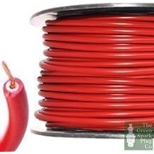 Bujía Encendido HT cable wire Core PVC rojo ...