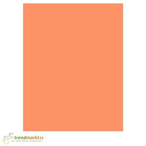 Tonpapier Lachs ★ DIN A4 130 g/m²   100 Blatt Set einfarbig 130 g/qm ✓ Bastel-Papier/Ton-Karton-Schul-Papier farbig zum basteln bemalen   Kinder Hochzeit - 8019445