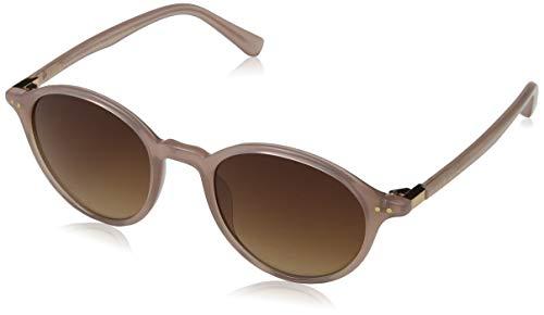 Ted Baker Damen Lenore Sonnenbrille, Minky Pink/Brown, 50.0