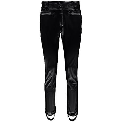 Spyder Luxe Painted On pantaloni da sci da donna Softshell Nero, Donna, nero, 42 (US 14)