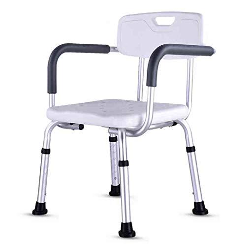 Kugga Deluxe Duschbank/Für Senioren/Für Schwangere Frauen/Für Behinderte, Verstellbarer Badesessel mit Breitem Rücken und Sitz -