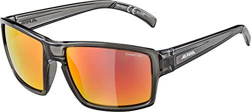 ALPINA Erwachsene Melow Sonnenbrille, Grey transparent, One Size