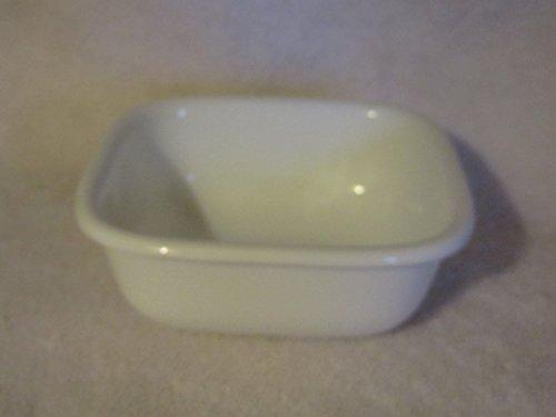 Corelle Vitrelle Glass 1.25 Cup Square - Bake, Serve, Store Dish by CorningWare (Corelle Corningware)