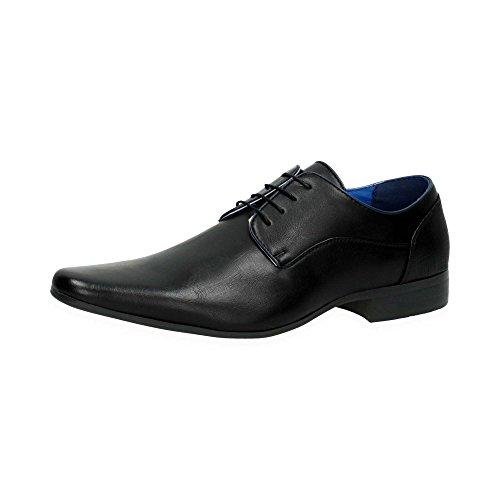 Herren Business Halb Schuhe | Elegante Schnür Schuhe zum Anzug | Bequeme Casual Office Schuhe im klassischen Design