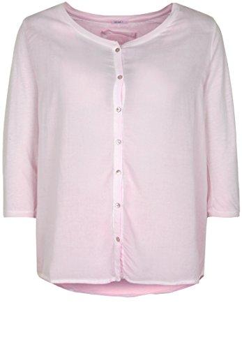 Better Rich Damen Bluse Button Blouse Metallic-Print (Metallic-print-bluse)