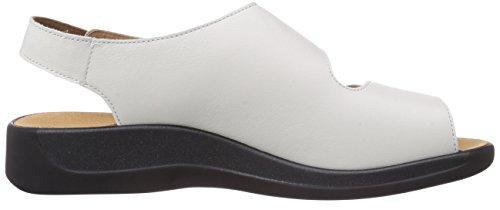 Ganter  MONICA, Weite G, Sandales ouvertes femmes Blanc (Weiss 0200)
