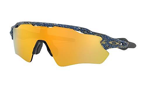 Ray-Ban Herren 0OO9208 Sonnenbrille, Braun (Splatter Poseidon), 40