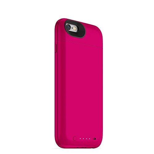 Mophie 3043_JPA-IP6-BLK Juice Pack Air harte Schutzhülle mit 2750mAh Akku für Apple iPhone 6/6s schwarz rose