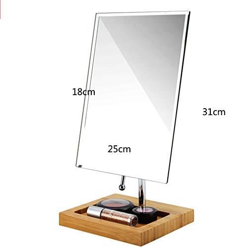 GDZFY Falten Wandbehang Make-up-Spiegel,Hd-klarheit Desktop Schminkspiegel Frei stehend Wohnheim Student Kosmetikspiegel-I 18x25x31cm(7x10x12inch) (Stehend Make-up-spiegel)