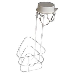Urinflasche Betthalter Urinflaschenhalter mit Deckel Betthalterung Halter für Urinflasche 1 Stück Tiga-Med