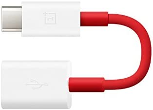 OnePlus 0202003601 Type-C OTG Cable (Red)