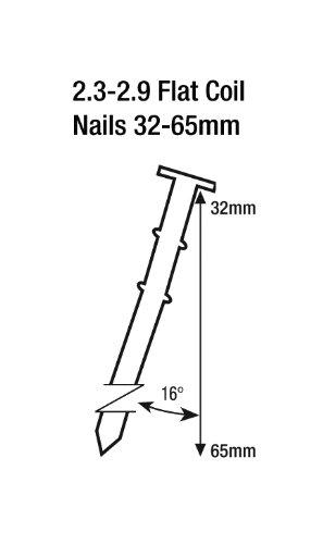 Tacwise HCN65P Cloueur pneumatique à rouleau 32-65 mm