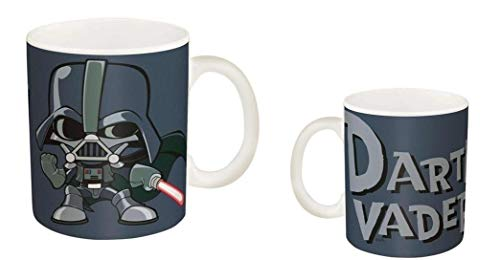 Star Wars Darth Vader Grey 12oz. Ceramic Mug