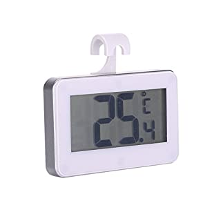 AIHOME™ Refrigerator Thermometer High Precision Waterproof Electronic Freezer Room Thermometer Frost Alarm