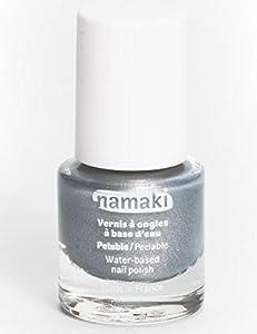 Namaki VA6 - Esmalte pelable para niños, unisex, color plateado