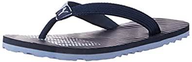 Puma Men's MiamiFashionDP Moodindigo and Duskblue Flip Flops Thong Sandals - 11UK/India (46EU)