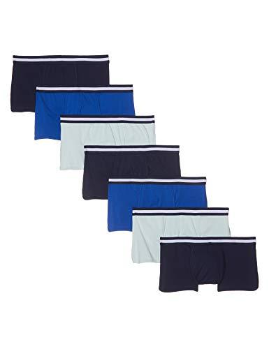 find. Stretch Hipster boxershorts, Mehrfarbig (Navy/Wash Blue/Royal), 50 (Herstellergröße: Medium)