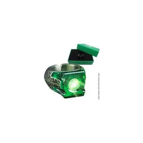 Preisvergleich Produktbild The Noble Collection Green Lantern Light-Up Ring () Costume Accessory
