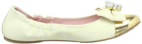 Miezko Amelie M2602 Damen Ballerinas Gelb (VANILLA/OURO)