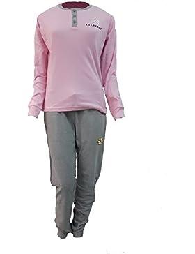 pigiama donna GURU caldo cotone interlock manica lunga art.2788