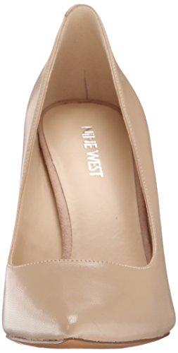 Nine West Tatiana Leather Pump Dress Smooth Natural leather