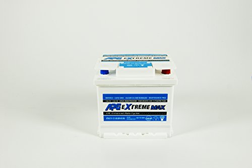 APG XET608 Extreme 3 - Batteria auto, 53Ah