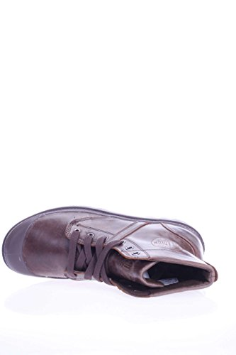 Palladium Uomo POLACCO PACAL0039 P076 Pallabrouse Leather Grey