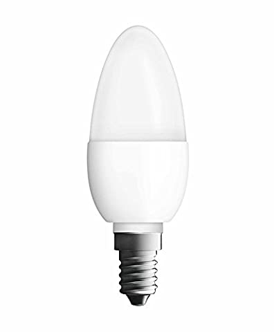 Neolux LED Classic B, 5,7 W - 40 W Replacement, Candle Shape, E14 Socket, Frosted, Warmwhite - 2700K,