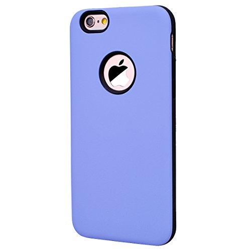 Yokata Cover per iPhone 6S Plus / 6 Plus Custodia per iPhone 6S Plus / 6 Plus gel Silicone Case Durevole TPU Backcover Protettiva Caso Premium Ultra Sottile Bumper Antiurto Protezione Shell + Penna -  Viola