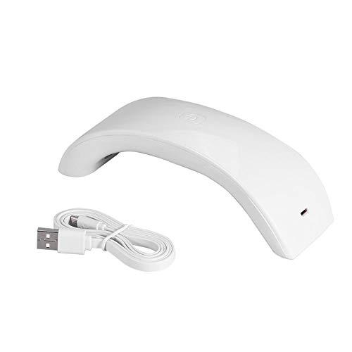Secador de uñas en 4 colores, 12 W, gel UV, lámpara de secado de uñas LED, con cable USB