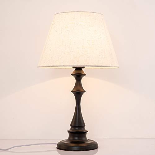 Los fabricantes estadounidenses de la lámpara de mesa dormitorio nórdico simple moderno salón cálido creativo regulable mesita de noche contador de luz interruptor de atenuación